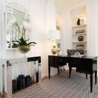 яркий дизайн гостиной в греческом стиле картинка