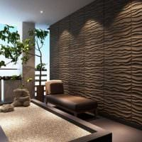красивый дизайн комнаты со стеновыми панелями фото