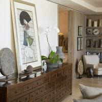 яркий фасад комнаты в восточном стиле фото