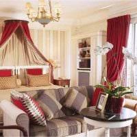 красивый декор комнаты в стиле ампир фото
