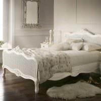 яркий дизайн спальни в стиле прованс фото