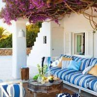 необычный декор комнаты в средиземноморском стиле фото