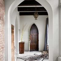 красивый дизайн спальни в готическом стиле фото