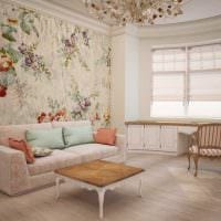красивый дизайн спальни в стиле прованс картинка