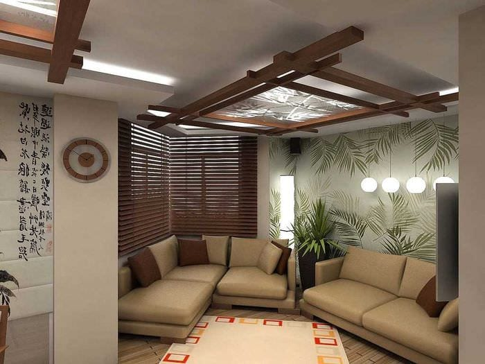 красивый стиль квартиры в восточном стиле