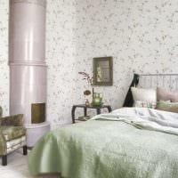 необычный декор спальной комнаты картинка