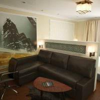 красивый декор гостиной спальни картинка