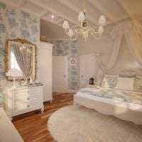 светлый декор комнаты в стиле прованс фото