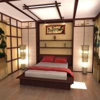 яркий фасад спальни в восточном стиле фото