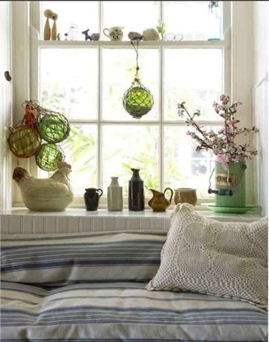 красивое оформление дизайна квартиры в стиле прованс