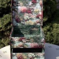 оригинальное оформление коробок подручными материалами фото