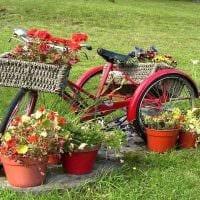 необычное украшение садового участка своими руками фото