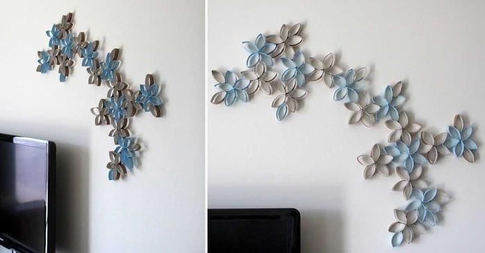 оригинальное декорирование квартиры своими руками