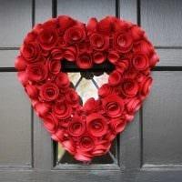 яркое украшение квартиры подручными материалами на день святого валентина фото