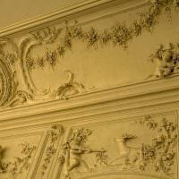 яркое оформление потолка аксессуарами картинка