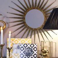 необычное декорирование абажура лампы своими руками фото