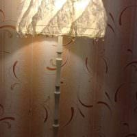 оригинальное оформление абажура лампы своими руками фото
