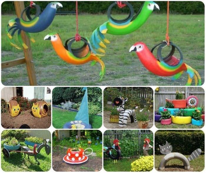 Идеи для детской площадки своими руками картинки