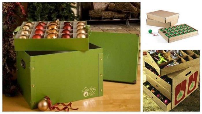 красивое оформление картонных коробок своими руками