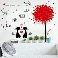 необычное украшение комнаты подручными материалами на день святого валентина фото