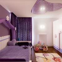 вариант цветной интерьера комнаты для девочки картинка