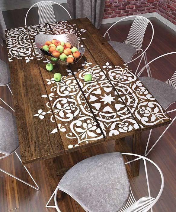 идея состаривания мебели своими руками