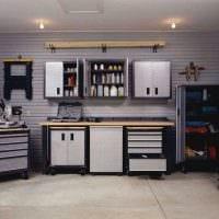 идея яркого оформления гаража картинка