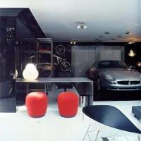 идея оригинального дизайна гаража фото