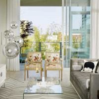 идея красивого интерьера гостиной комнаты 17 кв.метров картинка