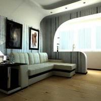 вариант необычного оформления гостиной комнаты 17 кв.метров фото