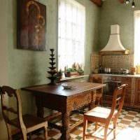 идея современного интерьера комнаты в деревенском стиле фото
