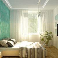 идея оригинального декорирования стиля спальной комнаты картинка