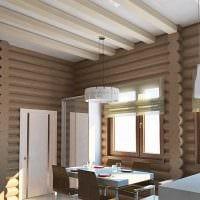 идея оригинального дизайна дачи в деревне фото