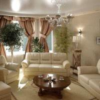 вариант современного дизайна гостиной комнаты 17 кв.метров картинка