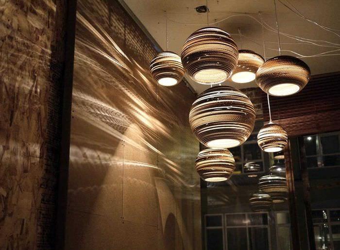 вариант яркого дизайна квартиры