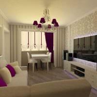 вариант необычного стиля квартиры картинка пример