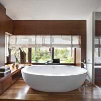 вариант яркого интерьера ванной картинка
