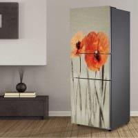 идея красивого оформления холодильника картинка