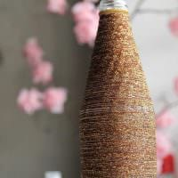 идея оригинального декорирования вазы картинка