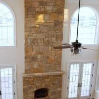 идея необычного декоративного камня в стиле комнаты фото