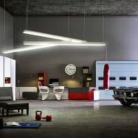 вариант красивого стиля гаража картинка