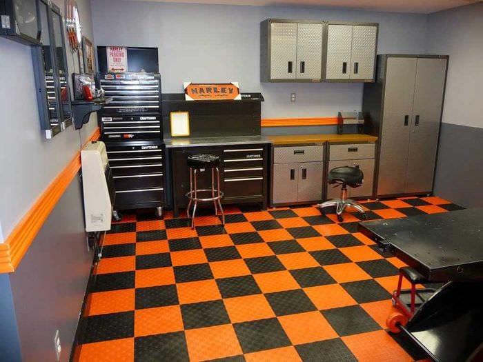идея современного стиля гаража