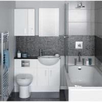 идея необычного интерьера ванной в квартире фото