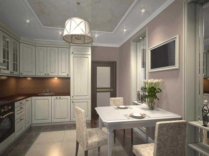 идея необычного стиля 2 комнатной квартиры