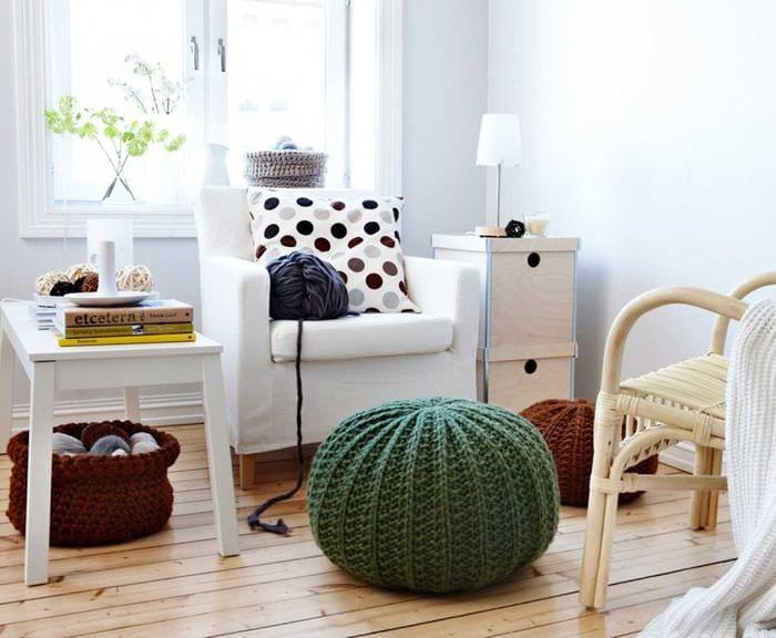 идея яркого стиля квартиры