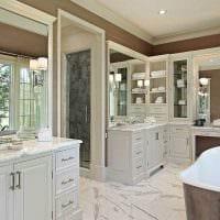 идея красивого интерьера ванной фото