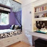 идея оригинального стиля спальни для девочки картинка