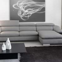 вариант необычного дизайна гостиной с диваном картинка