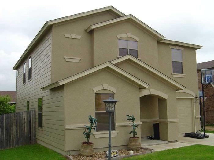 Как можно сделать фасад дома фото