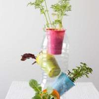 вариант яркого оформления вазы фото